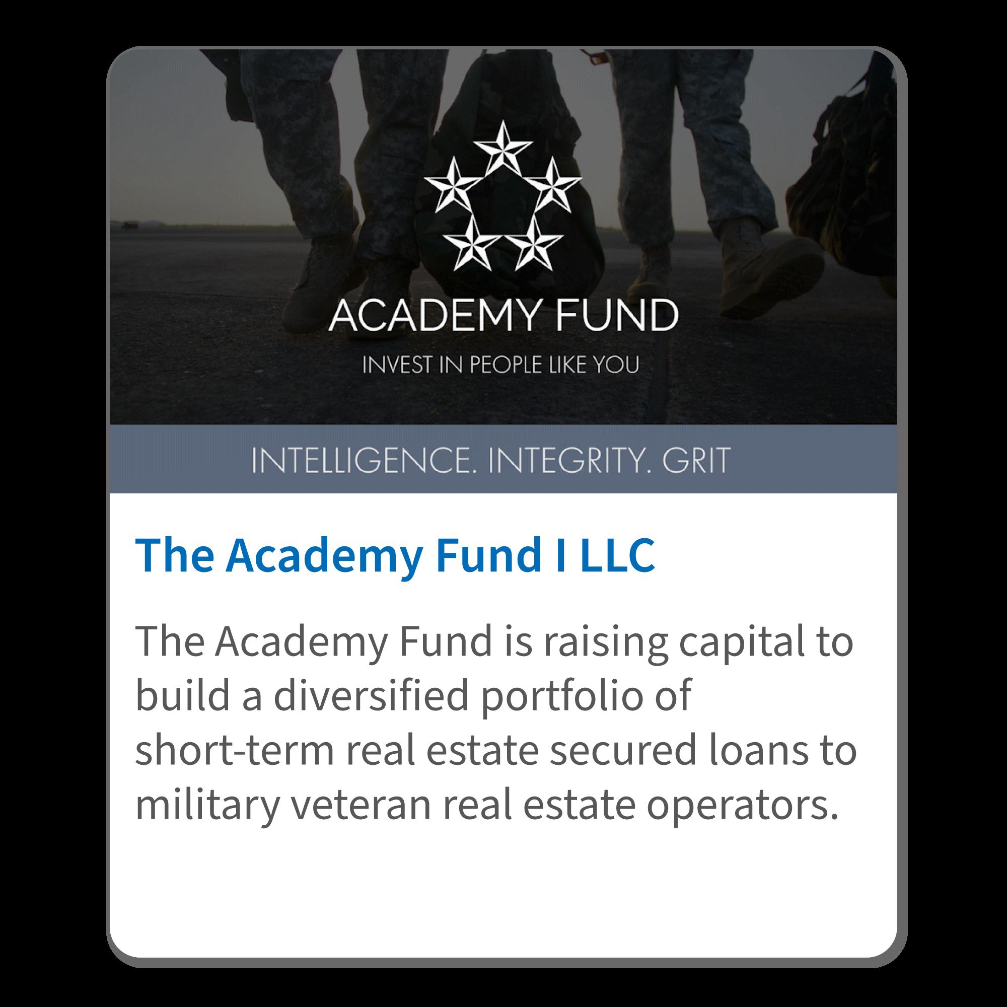 Academy-Fund Deal Tile